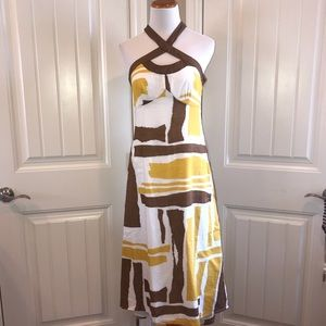 Merona size 2 halter sundress hi low